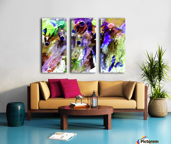 Winning Streak  Split Canvas print
