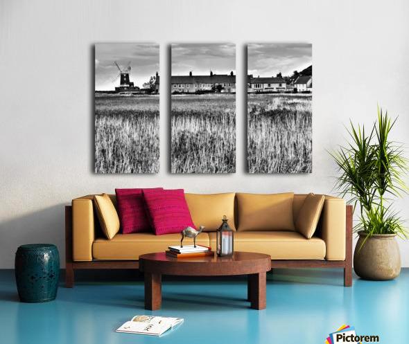 Wind houses Split Canvas print