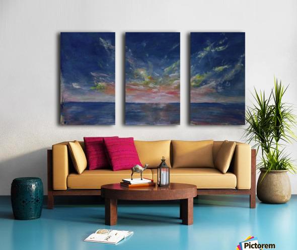 Lovely morning Split Canvas print