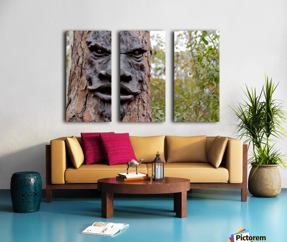 The Animated Forest Split Canvas print