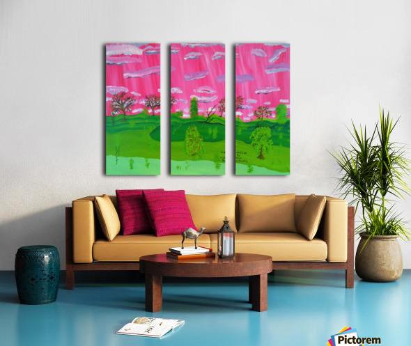 22_022 dream_land R Split Canvas print