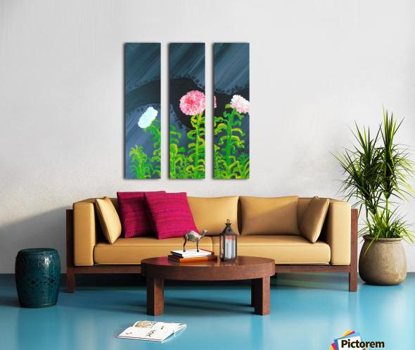 44_44__1 3__garden R Split Canvas print