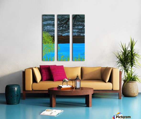 50 x2_50__1 3__tranquility R Split Canvas print