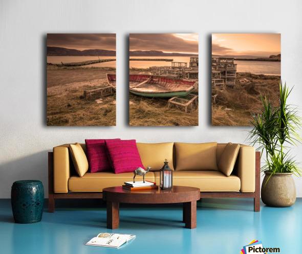 La Pointe- warm Split Canvas print
