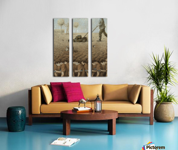 perfect garden Split Canvas print