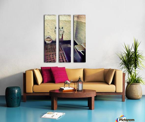 Alcatraz Split Canvas print