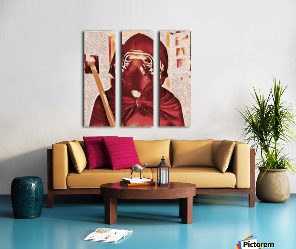 Karneval  Split Canvas print