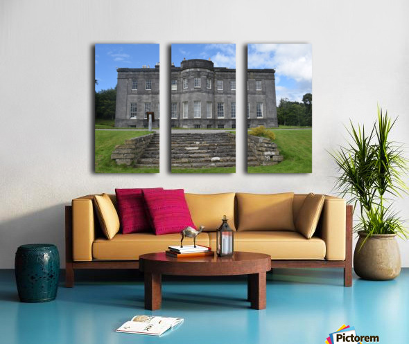 LISSADELL HOUSE & GARDENS Split Canvas print