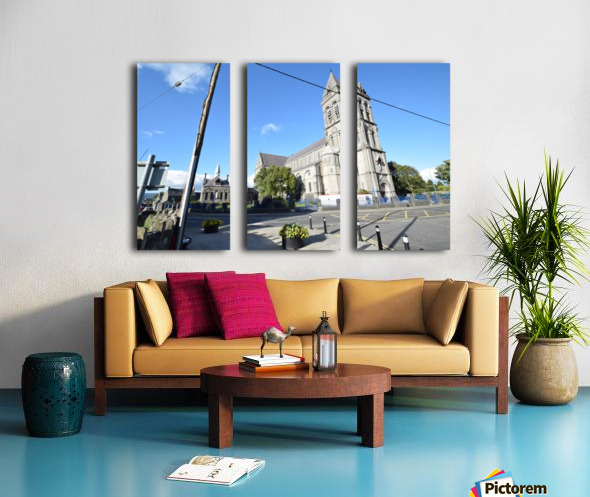 CATHEDRAL, SLIGO Split Canvas print
