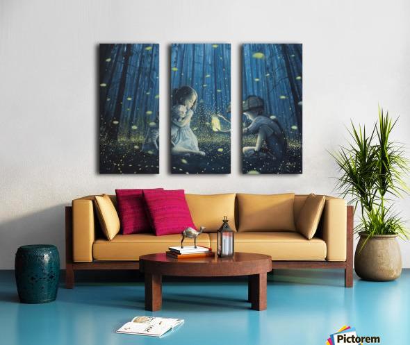 The Magic Lantern Split Canvas print