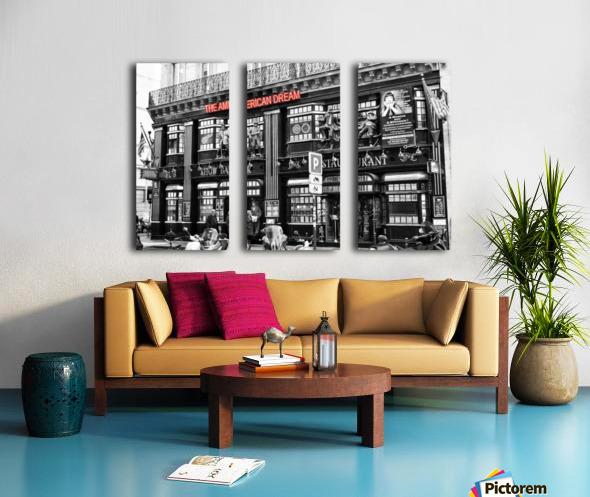 The American Dream Split Canvas print