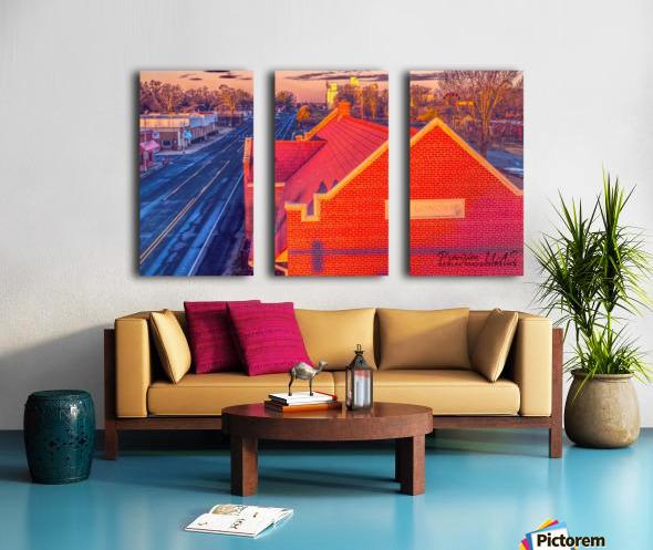 Lonoke, AR | Red Oak  Split Canvas print