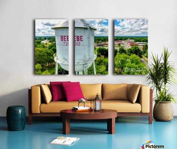 Beebe, AR | Water Tower Split Canvas print