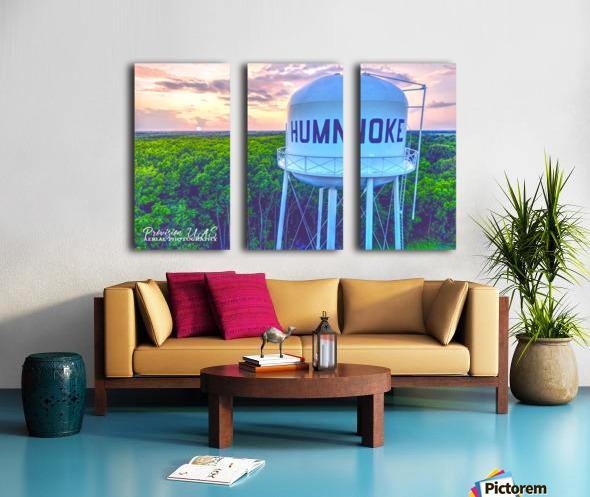 Humnoke, AR | Water Tower Split Canvas print