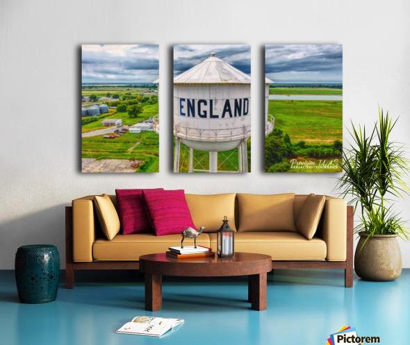 England, AR | Water tower Split Canvas print