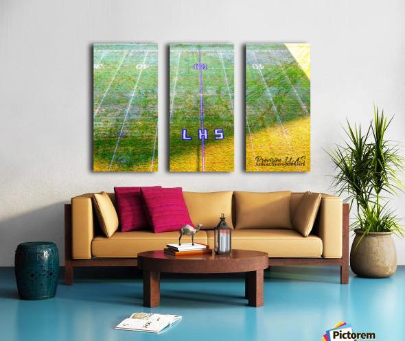 Lonoke, AR   Rabs Field Artistic Split Canvas print