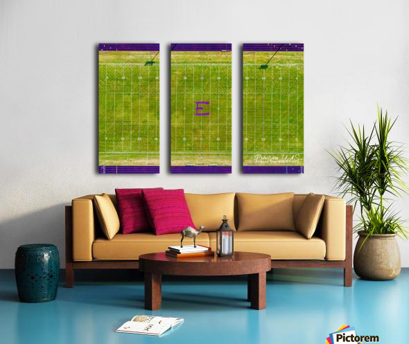 England, AR | Lions Football Field Split Canvas print
