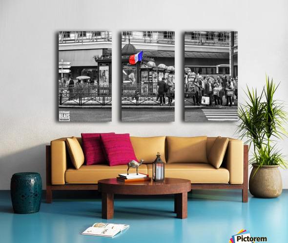 Paris - Newsstand Split Canvas print
