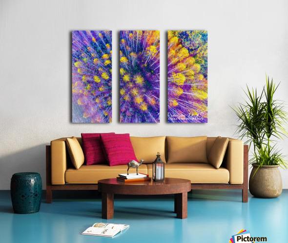 Lawrenceburg, TN | Tennessee Aspens  Split Canvas print