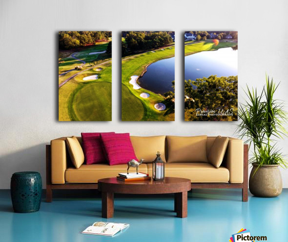 Westpoint, MS | The 18th Hole Split Canvas print