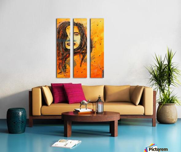 L'Envol Split Canvas print