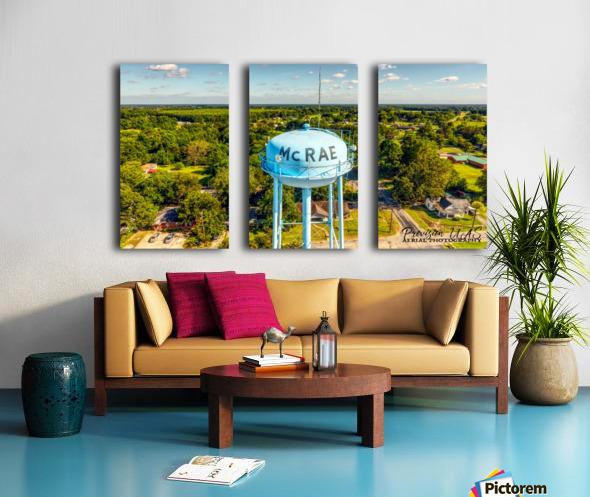 McRae, AR | Water Tower Split Canvas print