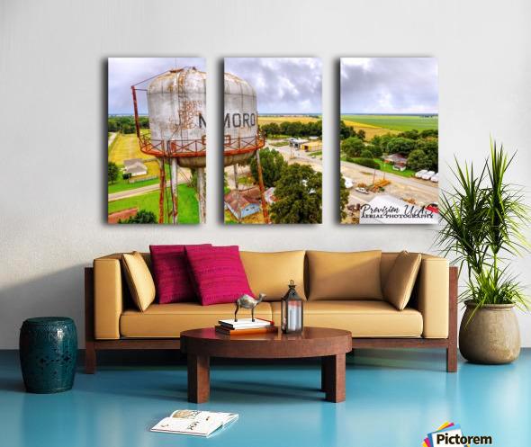 Moro, Ar   Water Tank Split Canvas print