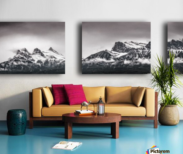 CanmoreWinter Split Canvas print