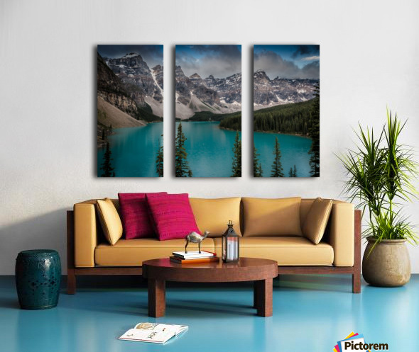 Moraine Lake Split Canvas print