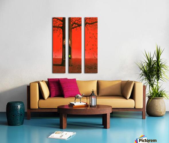 autumn Split Canvas print