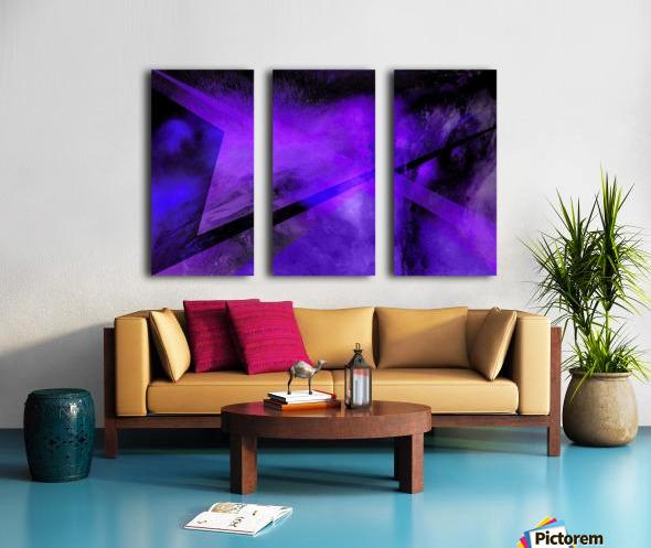 Geometric Abstract B Split Canvas print