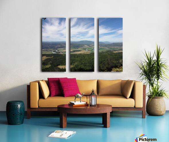 Beautiful British Columbia Split Canvas print