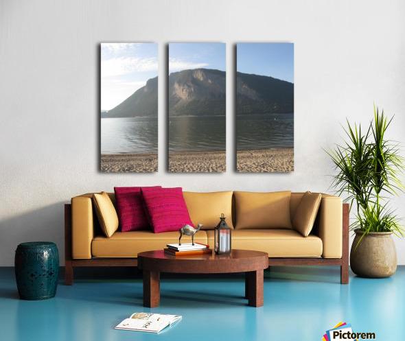 Mount Ida On The Beach Split Canvas print