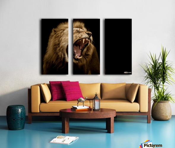 MAJESTIC Split Canvas print