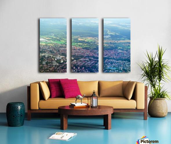 Airplain Split Canvas print