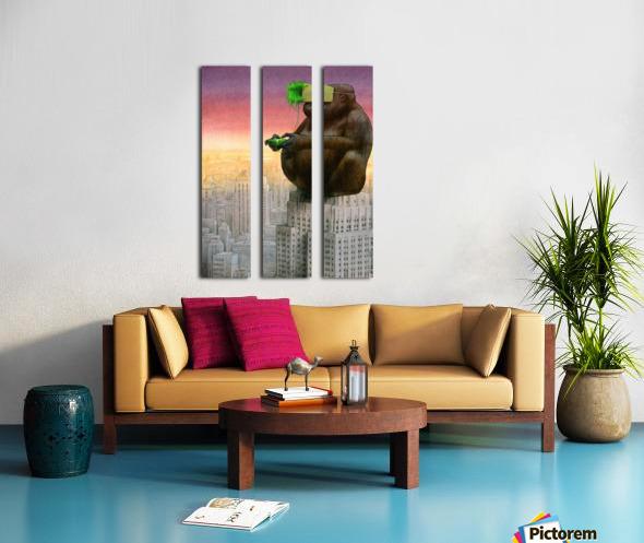 vr Split Canvas print