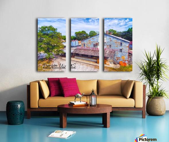 Loretto, TN   Loretto Milling Co. Split Canvas print