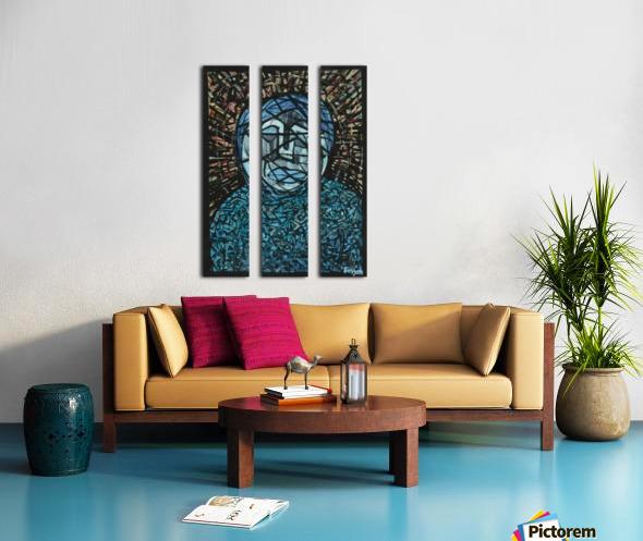Fatima rejected Split Canvas print