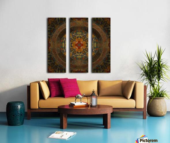 Tibetan Window Split Canvas print