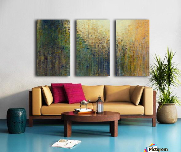 Paris Autumn Split Canvas print