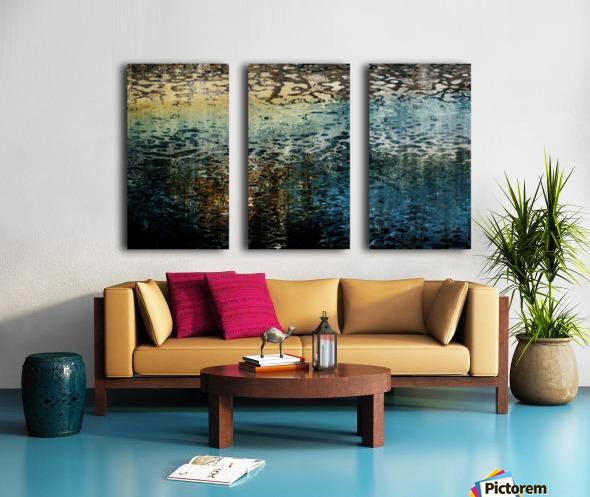 Armonk Snowmelt Split Canvas print