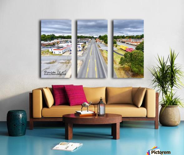 Lonoke, AR | Headed W on 70 Split Canvas print