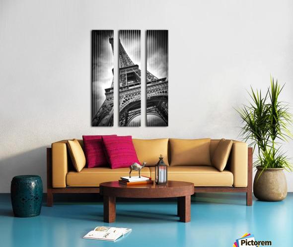 PARIS Eiffel Tower  Split Canvas print
