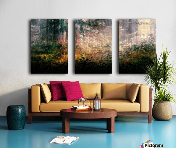Dutch Shore Split Canvas print