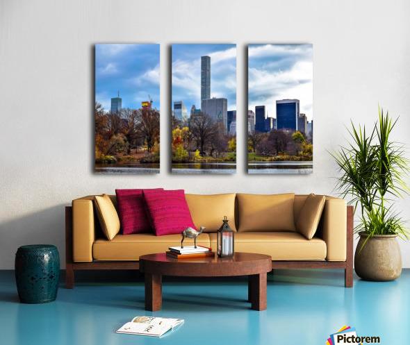 Autumn Central Park  Split Canvas print