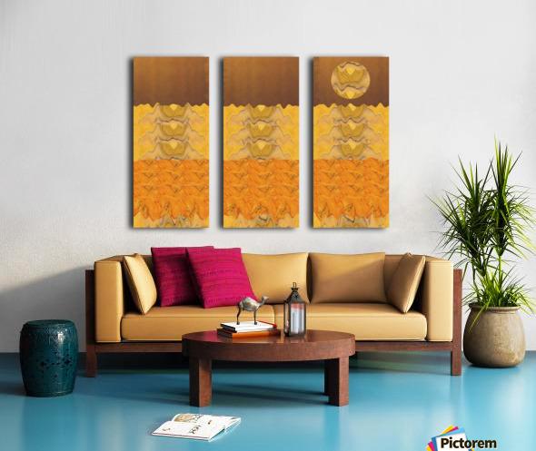 Landscape  0627 Split Canvas print