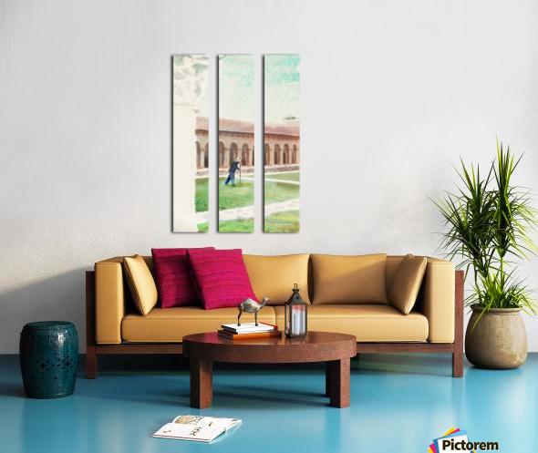 The Cloisters Split Canvas print