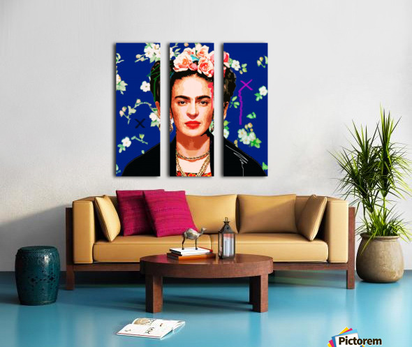 Frida X Split Canvas print