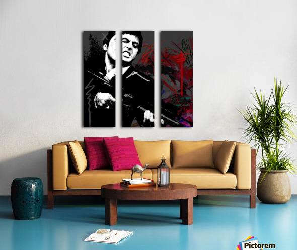 Say X Split Canvas print