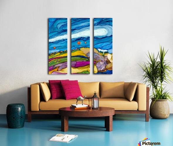 Elysian Split Canvas print